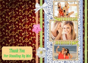 thank you collage design