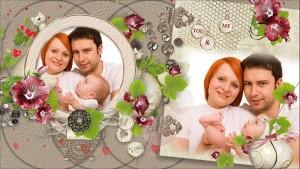 family photo slideshow