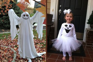ghost costume idea for kids