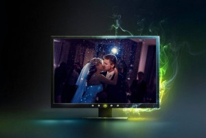 modern wedding photo frame