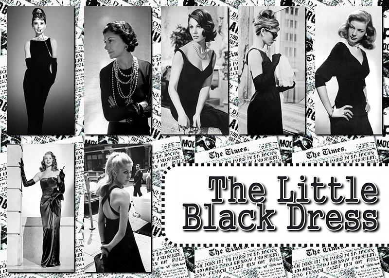 black & white grid collage idea