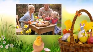 Easter slideshow template