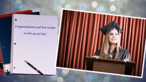 graduation slideshow