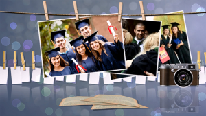 graduation slideshow template