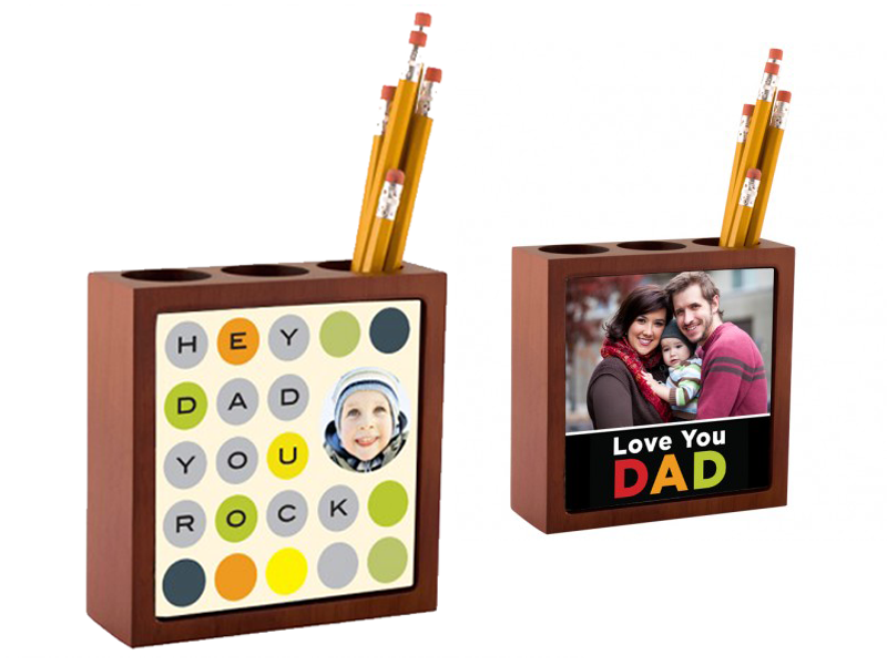 Desk organizer for your dad