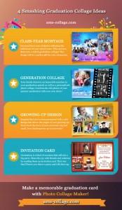 Graduation photo collage ideas