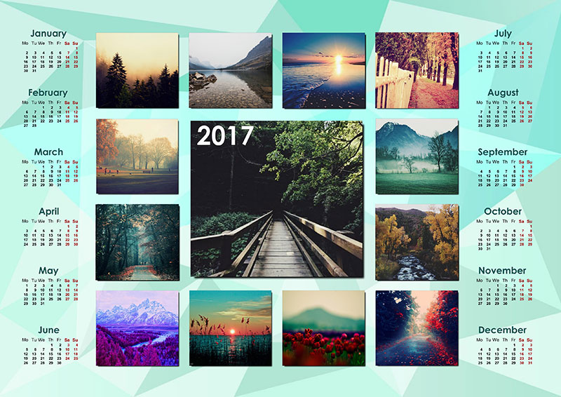 How To Create Your Own Photo Calendar For  Creative Photo Design
