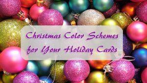 Christmas color schemes