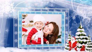Christmas video greeting card