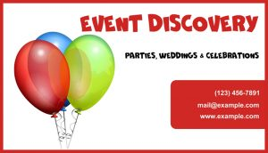 event agency card