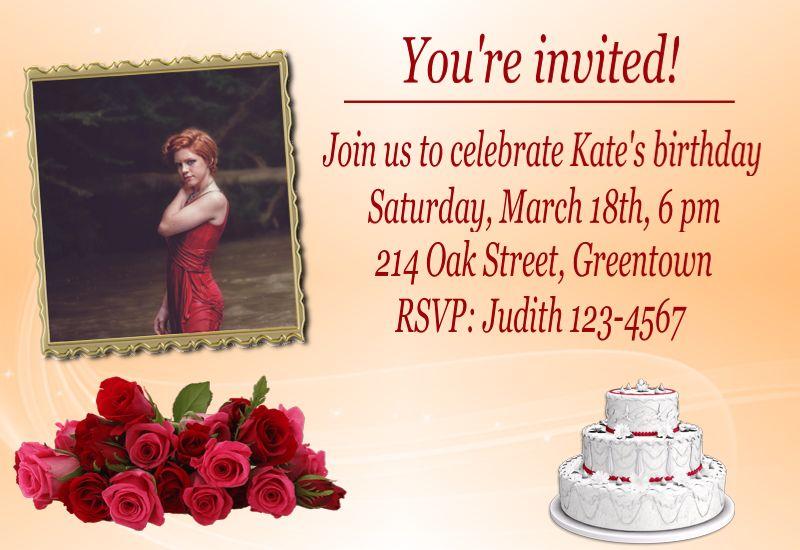 classy invitation design