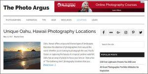 Argus photo blog