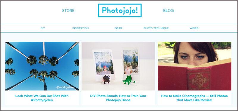 Photojojo blog