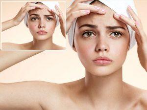Erase skin blemishes
