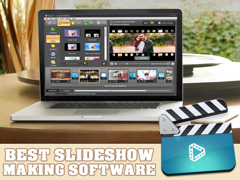 Best slideshow making software