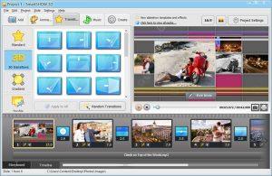 Smartshow interface