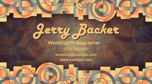 Geometrical business card