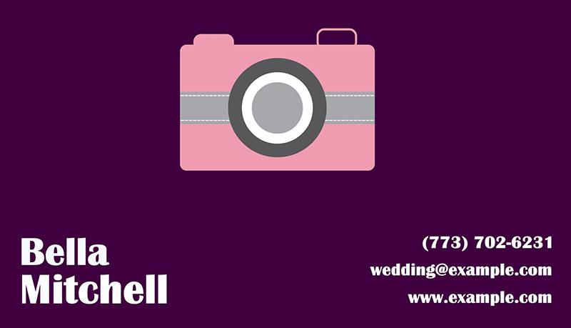 Minimalistic business card