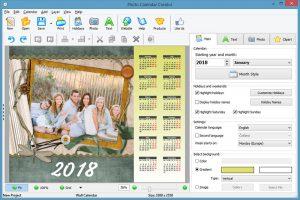 Add calendar photos