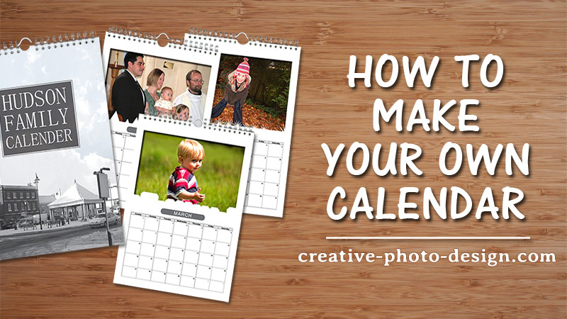 Calendar Creative Photo Design Blog