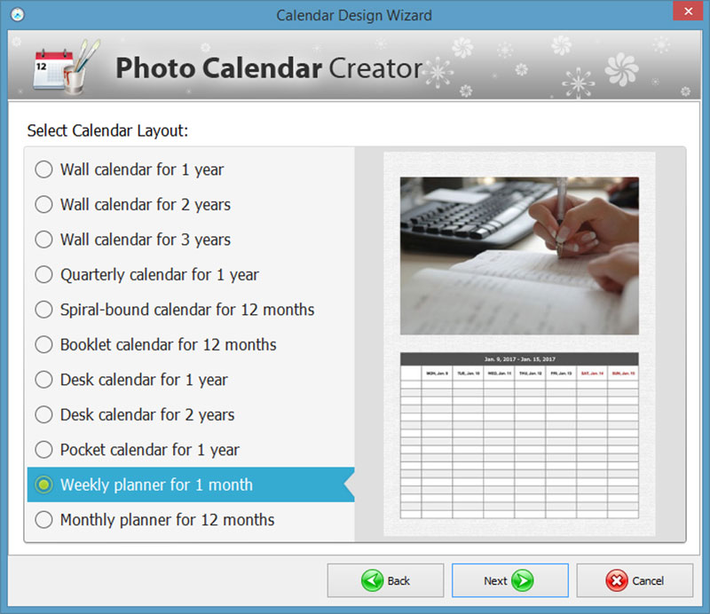 How to Make Your Own Calendar – 5 Tips for Custom Calendar Designs ...