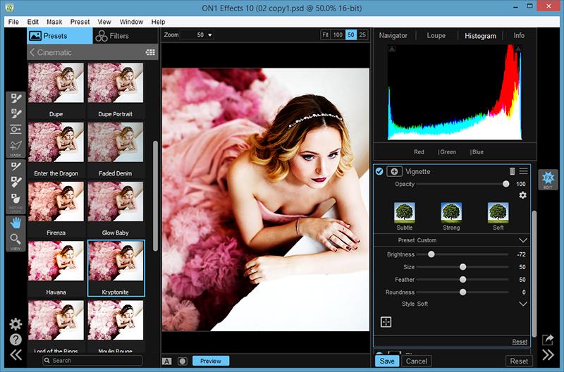 ON1 Effects studio