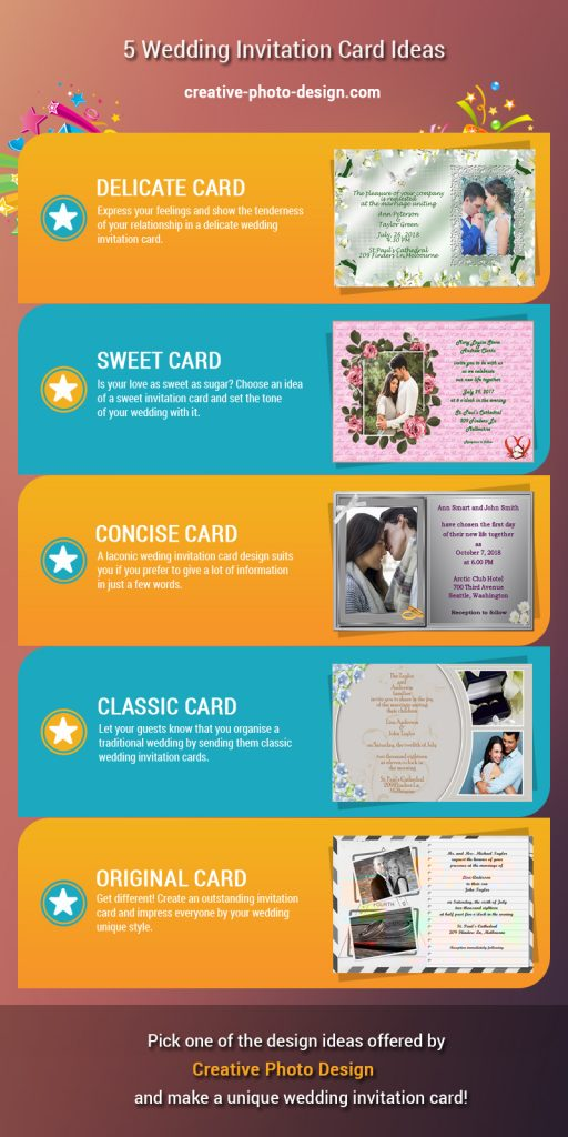 5 Outstanding Wedding Invitation Card Ideas You Ll Love